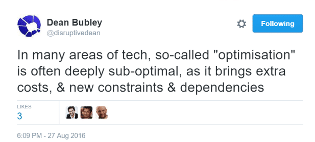 Dean Bubley Optimisation